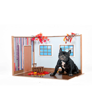 犬 手作り ケージ インテリア 家具 撮影用小物 スカイ