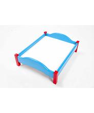 犬 手作り ベット インテリア 家具 撮影用小物 ブルー L54cm*W44cm*H14cm
